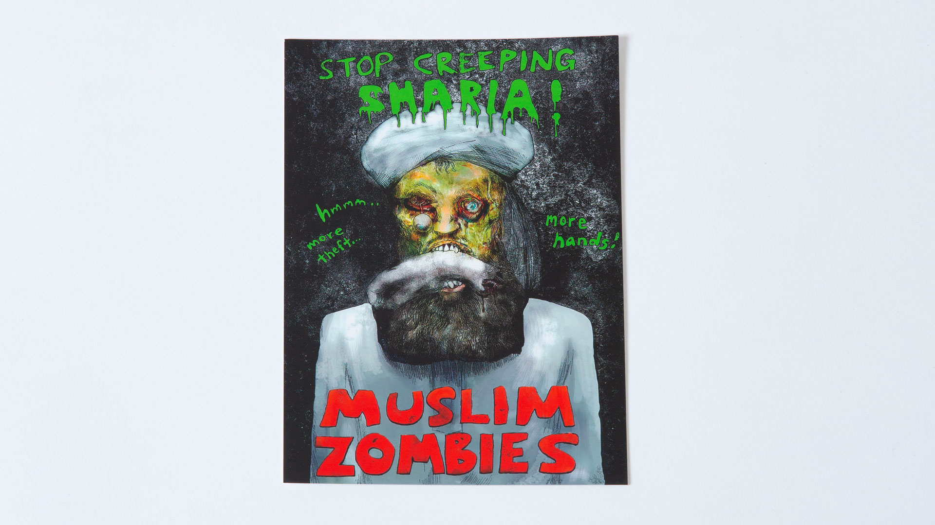 Safdar Ahmed Muslim Zombine Postcard Pack