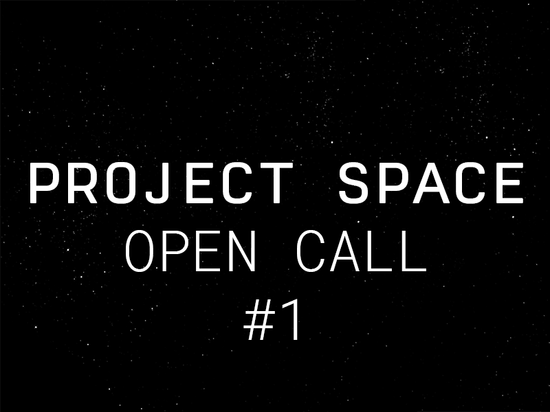 Project Space | 2021 Open Call #1