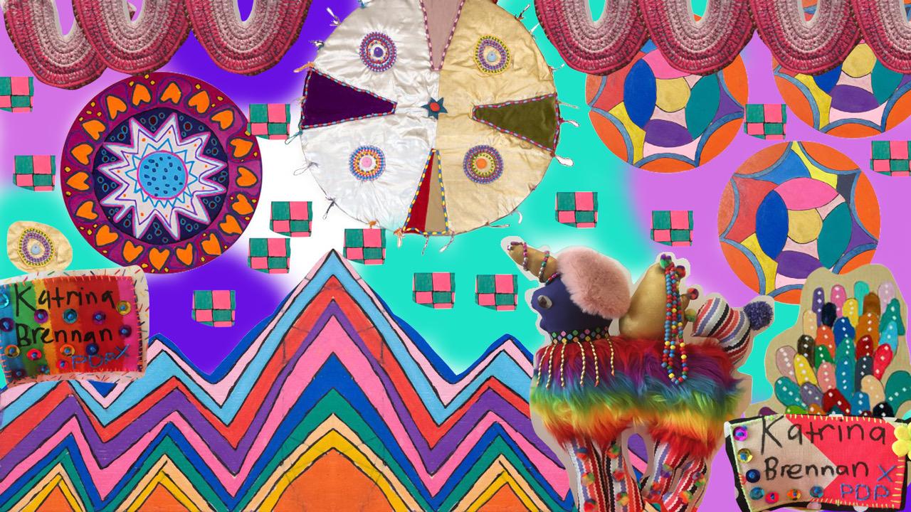 UNICORN BUTTERFLY | KATRINA BRENNAN X PAULA DO PRADO
